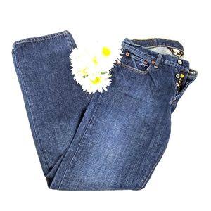 Lucky Brand 221 Original Straight Jeans SZ 32